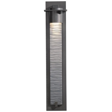 Airis Large Outdoor Wall Sconce by Hubbardton Forge | 307930-10-ZL290