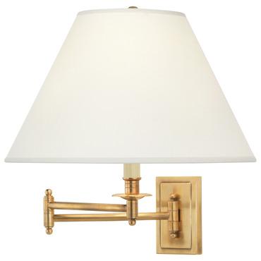 Kinetic Adjustable Pharmacy Task Lamp, Robert Abbey Kinetic Antique Brass Pharmacy Desk Lamp