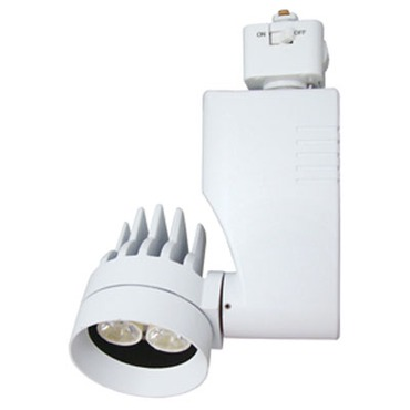 CTL804L2V 13W 27K Flood Dimmable Mini Optica Track Fixture