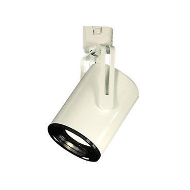 CTL2116 Line Voltage PAR16 Flat Back Cylinder Track Fixture by Con-Tech | CTL2116-P