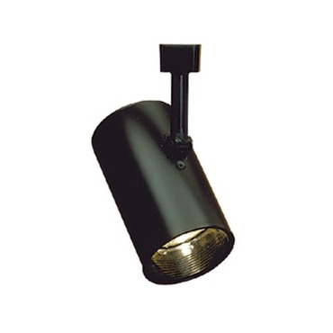 CTL120 Line Voltage PAR20 Flat Cylinder Track Fixture by Con-Tech | CTL120-B