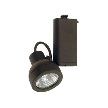 CTL1216T Low Voltage MR16 Closed Back Track Fixture by Con-Tech | CTL1216T-B