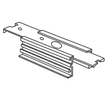 Recessed Track RAH-2 Straight Connector Housing by Con-Tech | RAH-2-P