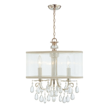 Hampton Convertible Chandelier by Crystorama | 5623-CH