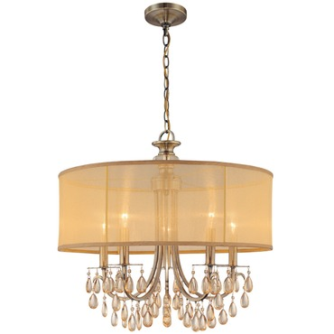 Hampton Chandelier by Crystorama | 5625-AB