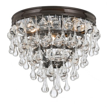 Calypso Ceiling Light Fixture by Crystorama | 135-VZ
