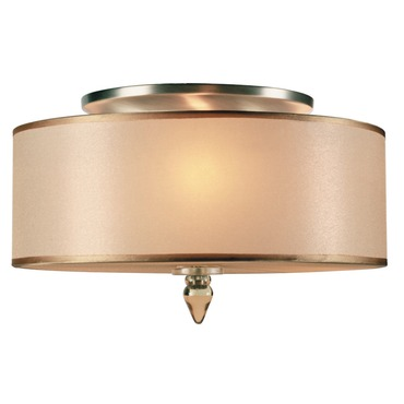 Luxo Flush Mount by Crystorama | 9503-AB
