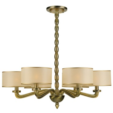 Luxo Chandelier by Crystorama | 9506-AB