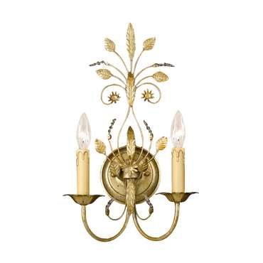 Primrose Wall Sconce by Crystorama | 4702-GL