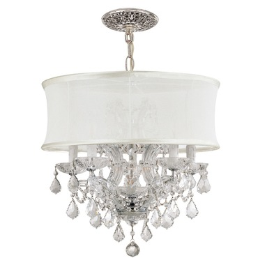 Brentwood Maria Theresa Chandelier by Crystorama | 4415-CH-SMW-CLM