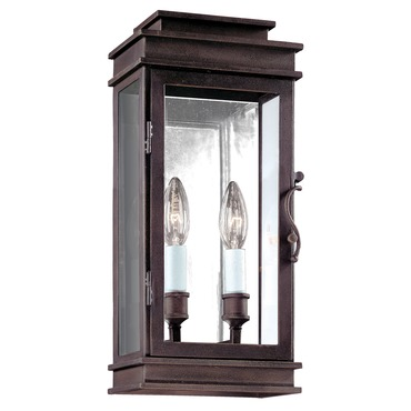 Vintage Outdoor Clear Wall Sconce by Troy Lighting | B2971