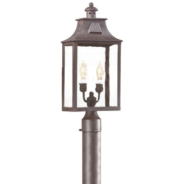 Newton Post Lantern by Troy Lighting | PCD9003OBZ
