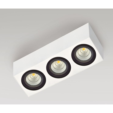 Box 2C 3 Light LED by Lucitalia | LC-210030131