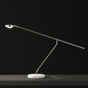 Lutz 290 Desk Lamp by Oluce Srl | LUTZ-290/CH