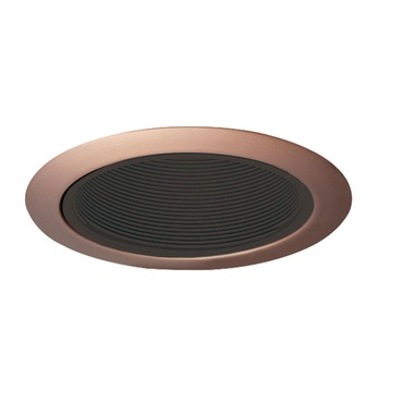 205B 5 inch Black Baffle Downlight Trim
