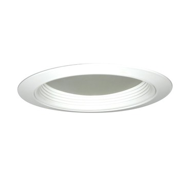 2130 5 inch Regressed Dome Lens Shower Trim by Juno Lighting | 2130W-WH