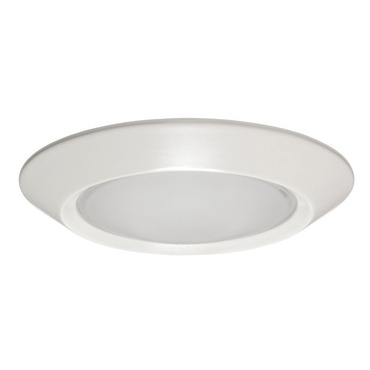 5101 Series 5 Inch Beveled Dome Frosted Lens Trim by Juno Lighting | 5101-WH