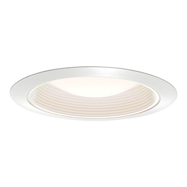 2330 Series 6 Inch Regressed Baffle Shower Trim by Juno Lighting | 2330W-WH