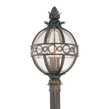Campanile Outdoor Post Lantern by Troy Lighting | P5006CB