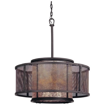 Copper Mountain Round Pendant by Troy Lighting | F3105