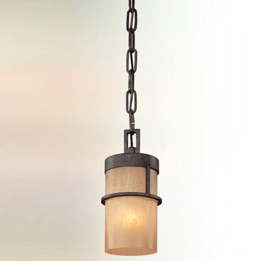 Bamboo Mini Pendant by Troy Lighting | F1847BB