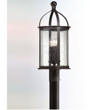 Scarsdale Post Lantern by Troy Lighting | P9474FBK