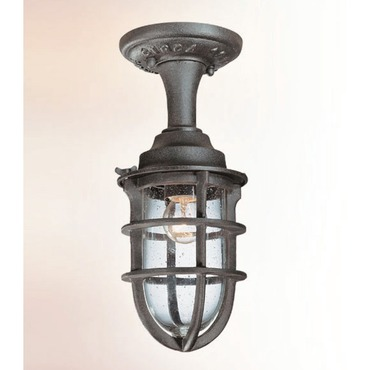 Wilmington Semi Flushmount by Troy Lighting | C1863NR