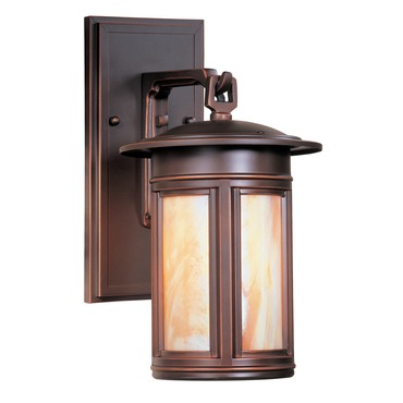 Highland Park Outdoor Fluorescent Dark Sky Wall Sconce by Troy Lighting | BIH6914OB-D