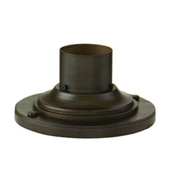 Pier Mount Round Step Base by Troy Lighting | PM4942ABZ