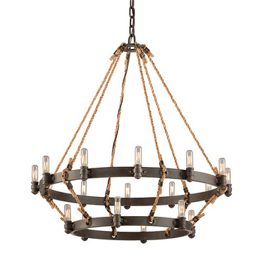 Pike Place 2-Tier Chandelier by Troy Lighting | F3128