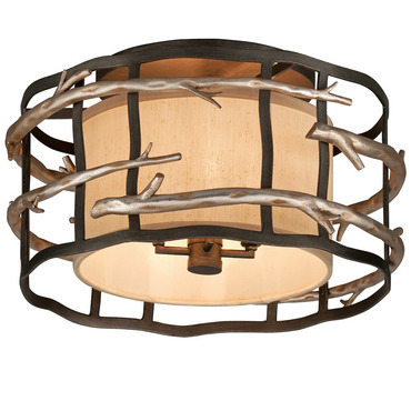 Adirondack Semi Flush Mount by Troy Lighting | C2881