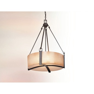 Austin Round Pendant by Troy Lighting | F1743ABZ