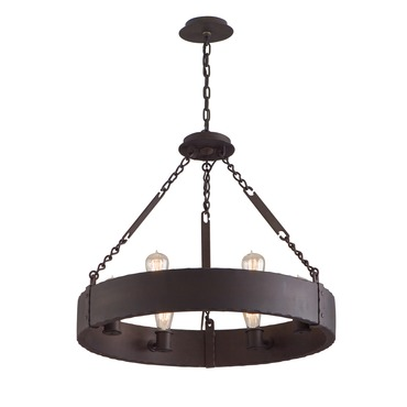 Jackson Chandelier by Troy Lighting | F2503CB