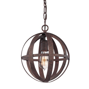 Flatiron Chandelier by Troy Lighting | F2511WI