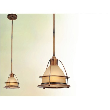 Bristol Bay Mini Pendant by Troy Lighting | F2056SBZ