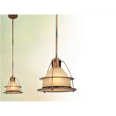 Bristol Bay Pendant by Troy Lighting | F2057SBZ
