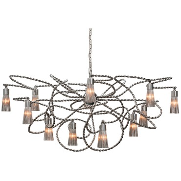 Sultans of Swing Oval Chandelier by Brand Van Egmond | SOSOC140NU