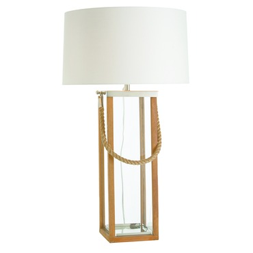 Tate Tall Hurricane Table Lamp
