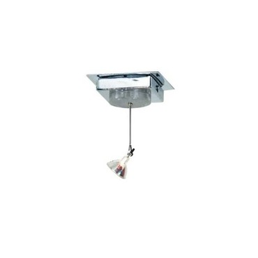 Joshua 2 Inch Square Canopy Ceiling Light