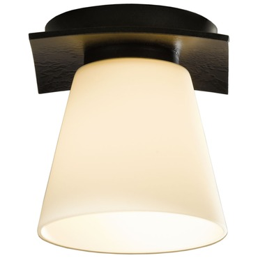 Wren Flush Mount Ceiling by Hubbardton Forge | 126601-07-G242