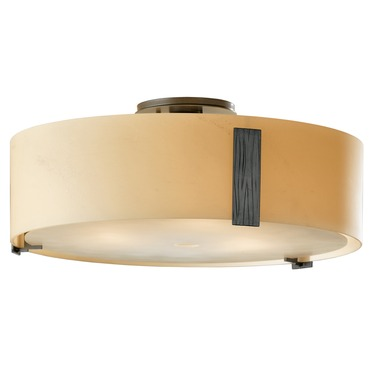 Impressions Large Semi Flush Ceiling Light by Hubbardton Forge | 126751-08-H216