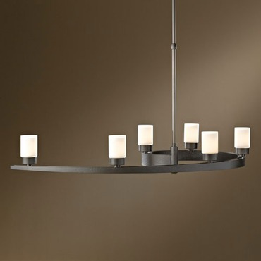 Eddy Colored Glass Adjustable Pendant by Hubbardton Forge | 137570-07-G261