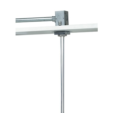 Kable Lite 2 Inch Single Feed Square Canopy by Tech Lighting | 700KP2C24C