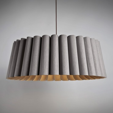Renata Round Suspension by WEP Light | RE80-GRAY-ASH