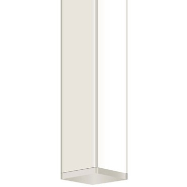Twiggy Hinged Vanity with 1 Inch Rectangle Canopy