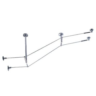 Kable Lite Rigid T Standoff 5 Inch Drop by Tech Lighting | 700KTSO0501C