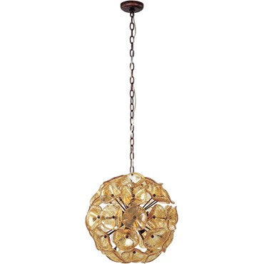 Fiori 12 light pendant