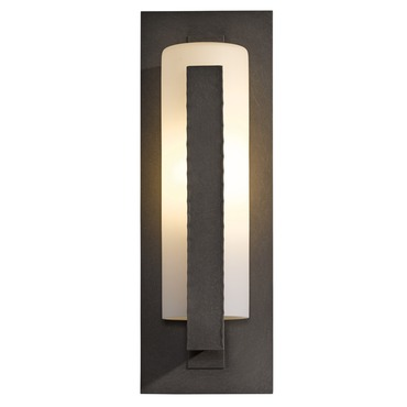 Vertical Bars Outdoor Wall Sconce by Hubbardton Forge | 307286-10-G34