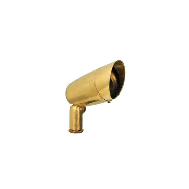 BL16 Brass Bullyte with Mounting Stake by Hadco | BL16-NS7