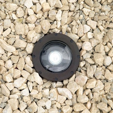IL116 7 Watt Spot LED Inground Uplight by Hadco | IL116-HLED7SPW